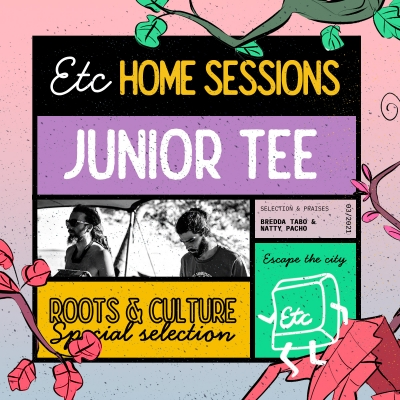 Junior Tee na Escape the City Home sessionu