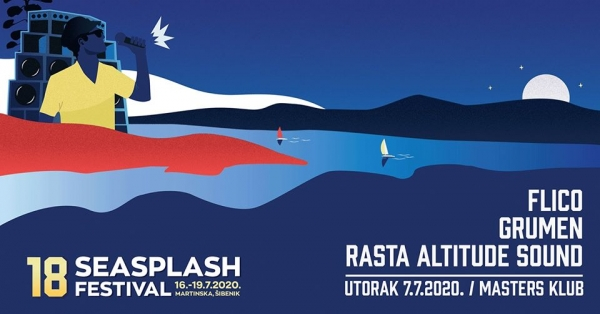 Reggae utorak: Seasplash Pre Party