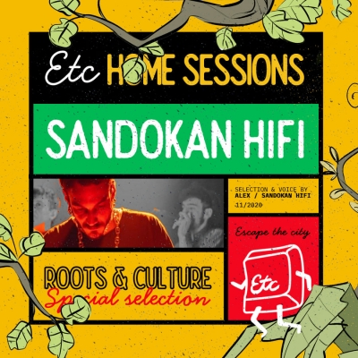 Sandokan Hi Fi na Escape the City Home sessionu